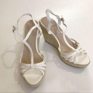 New COLIN STUART wedge sandals